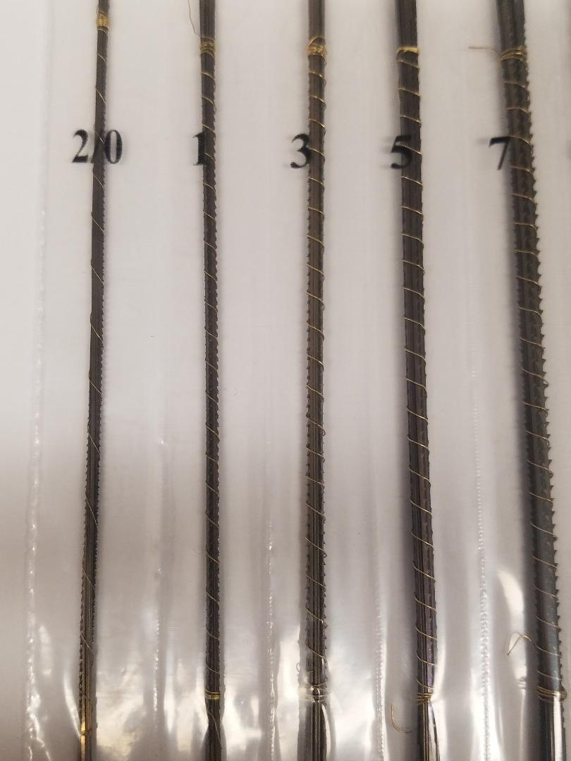 6 Dozen Pegas Modified Geometry Scroll Saw Blades Variety Pack 2 0 1 3 5 7 9 Scroll Saw Blades Scroll Saw Blade