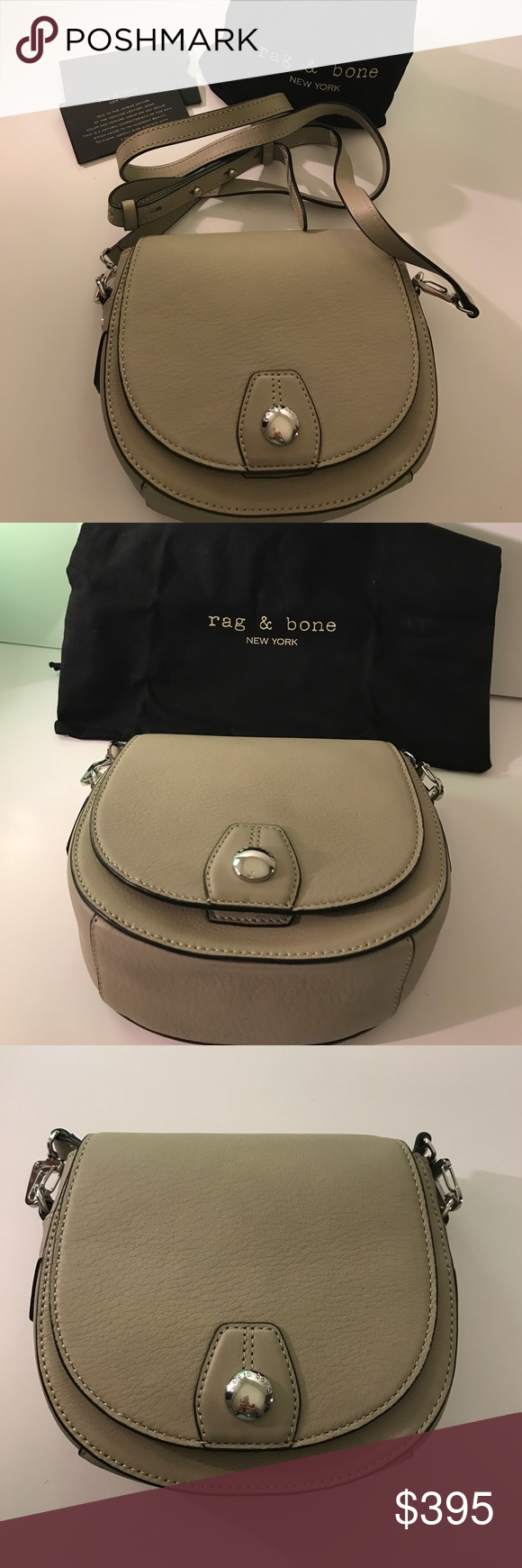 HOST PICK 🌷🌷🌷rag & bone Mini Flight Saddle Bag NWT rag & bone Mini Flight Saddle Bag in Clay. Comes with dust bag and authenticity card. Size is 7 inches by 6 inches in a neutral clay color. Strap is detachable and gives the bag an additional 23 to 29 inches. Stylish and simple bag. 🎀🦋🤗 rag & bone Bags Mini Bags