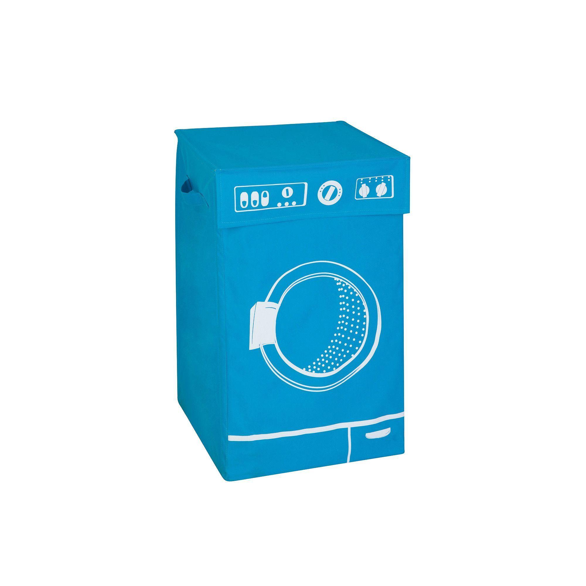 Honey-Can-Do Graphic Washing Machine Hamper With Lid | Washing ...