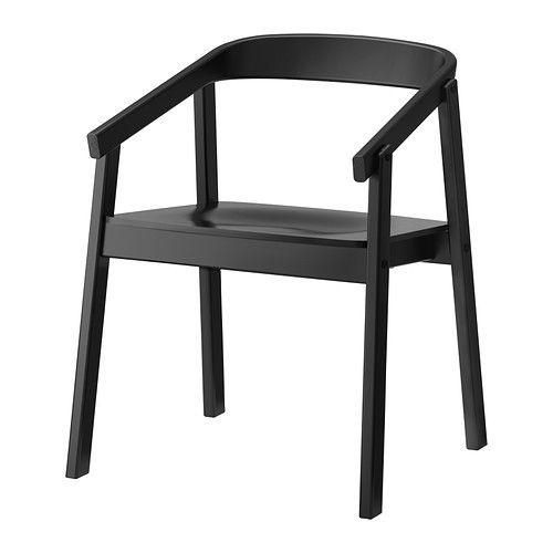 ESBJÖRN Stolička IKEA Stolička je veľmi pohodlná, pretože má opierku, ktoré podoprú vaše ruky a zaoblené operadlo.