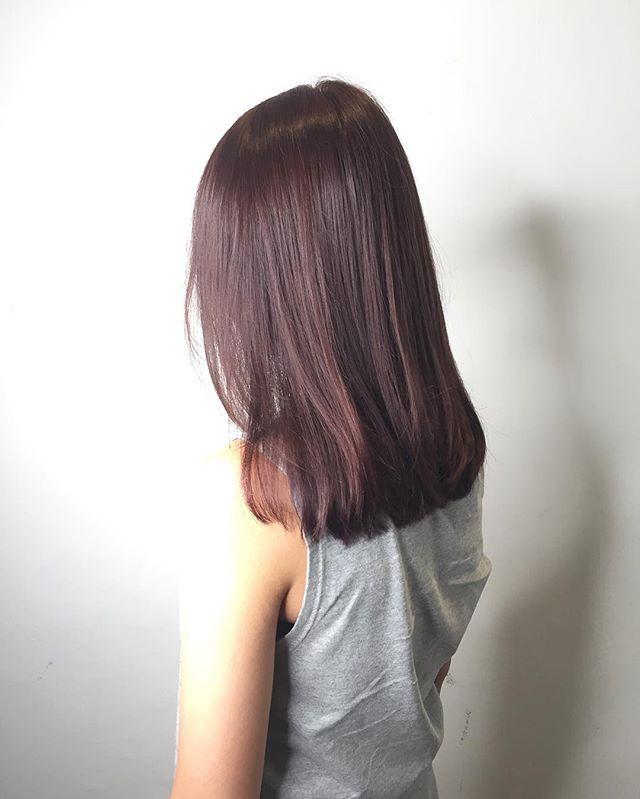 Takuya Segawa On Instagram Rose Gold Brown Cleo Hair International Call Here 63385250 For Book Appointment Hai Hair Styles Korean Hair Color Hair