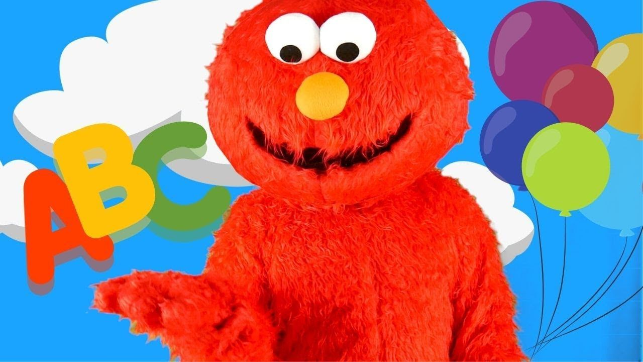 Elmo ABC and Colors for Kids Sing the Alphabet Song with