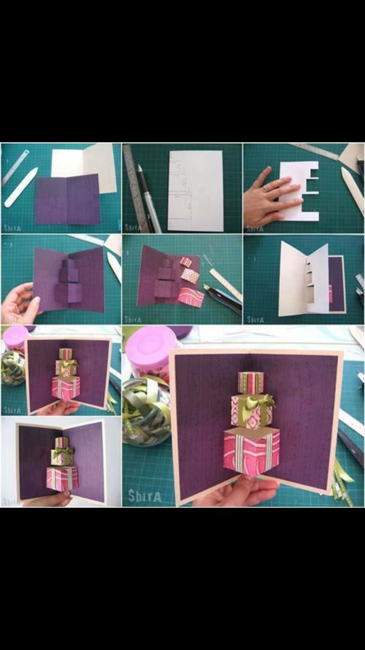 Pop up card pop up cards pinterest cards how to make a pop up card diy diy ideas diy crafts do it yourself diy projects pop up card solutioingenieria Gallery