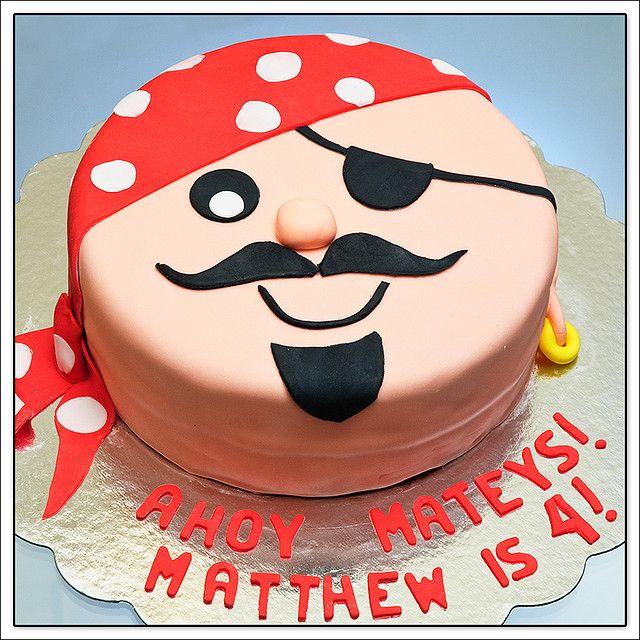 Pirate Cake Food I Must Make Pirate Birthday Cake