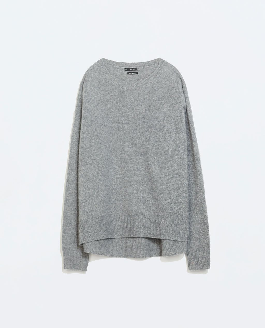 ZARA NEW THIS WEEK OVERSIZE CASHMERE JUMPER | sweaters