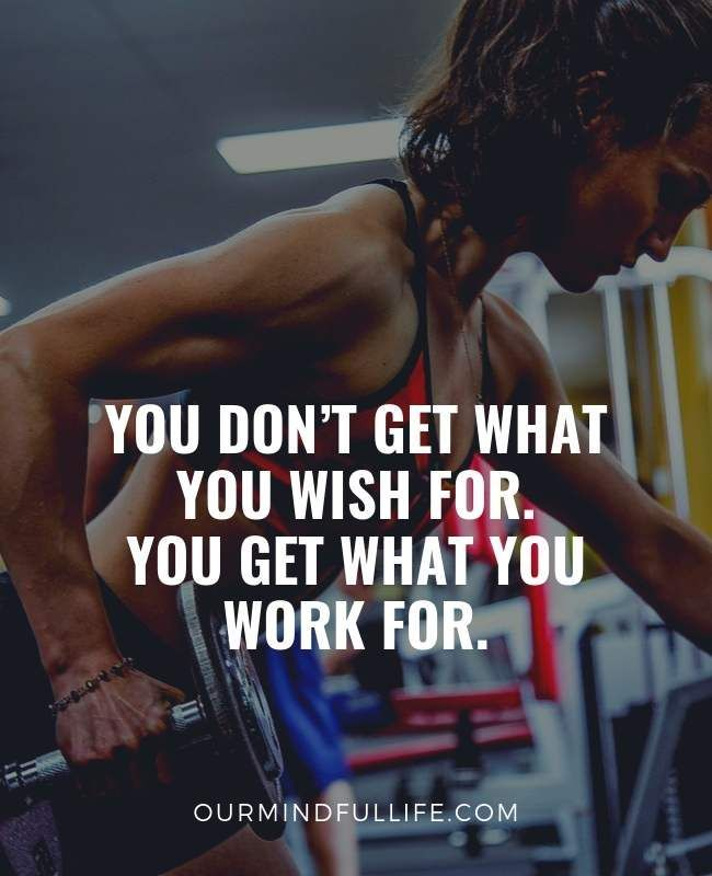 34 Workout Motivation Quotes And Gym Quotes To Slay Your Fitness Goal - #34 #and #fitness #Goal #gym #motivation #quotes #Slay #to #Workout #your