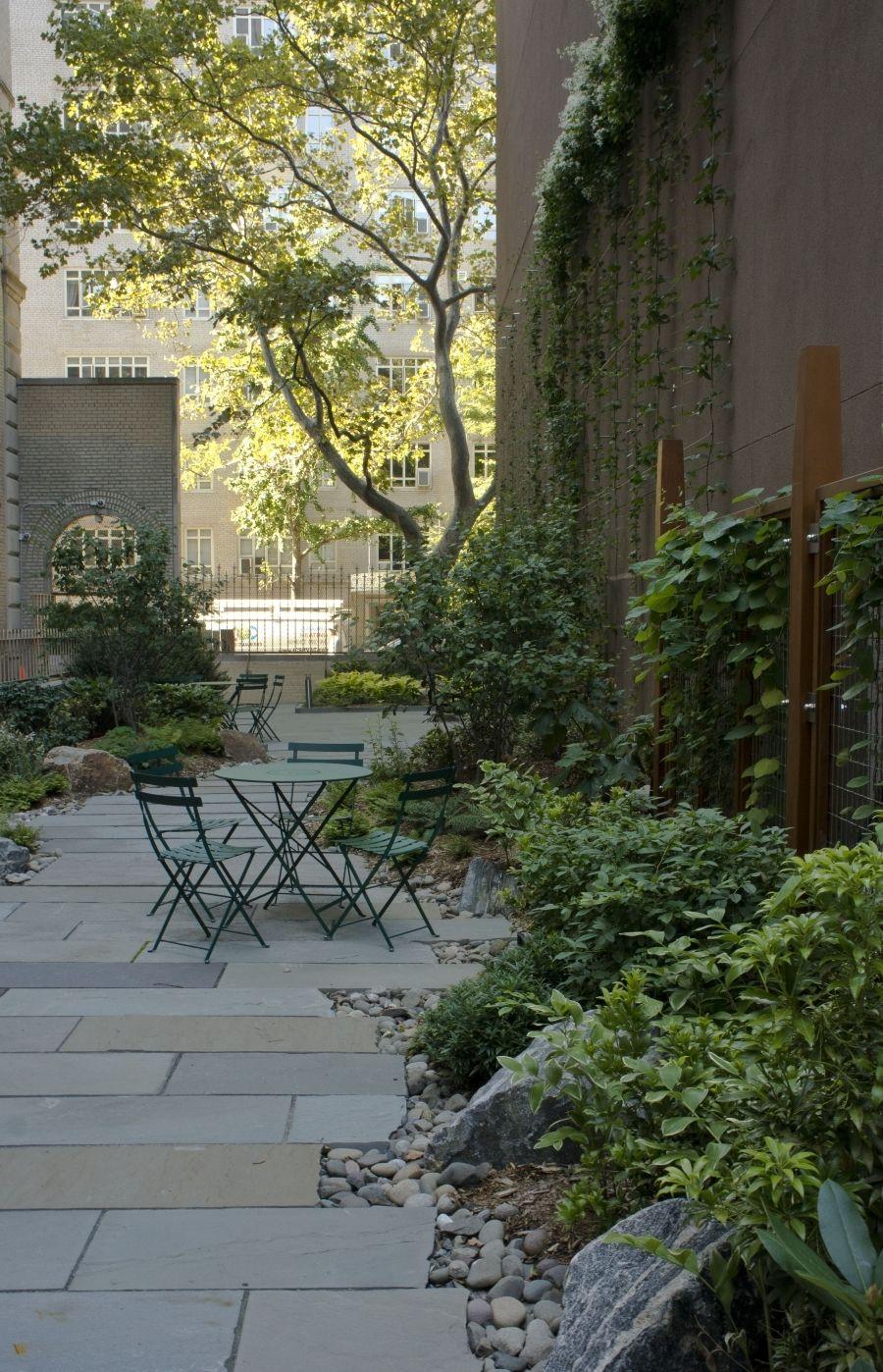 Central Park West Apartment Building Garden Starr