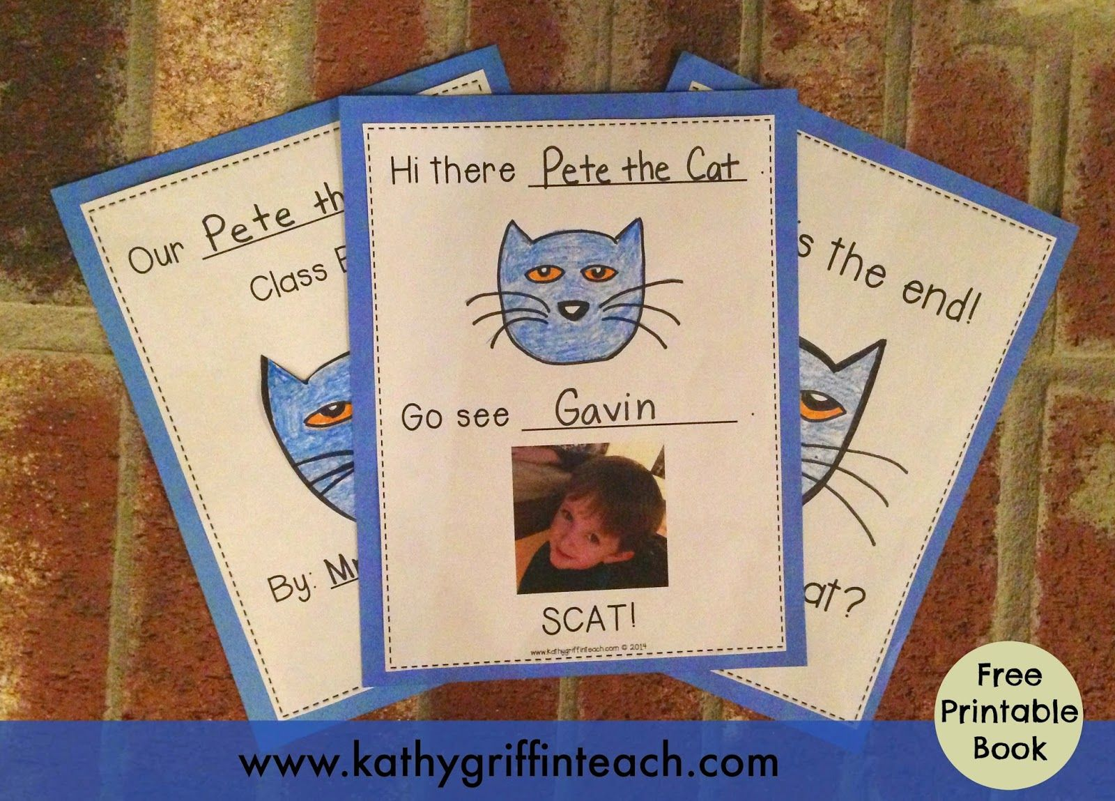 Free Printable To Make This Cute Book It Also Has A Whole Group Game To Play With It Too