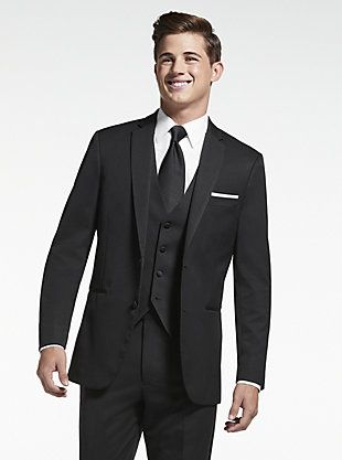 7f296b2bf85 BLACK Vera Wang Black Notch Lapel
