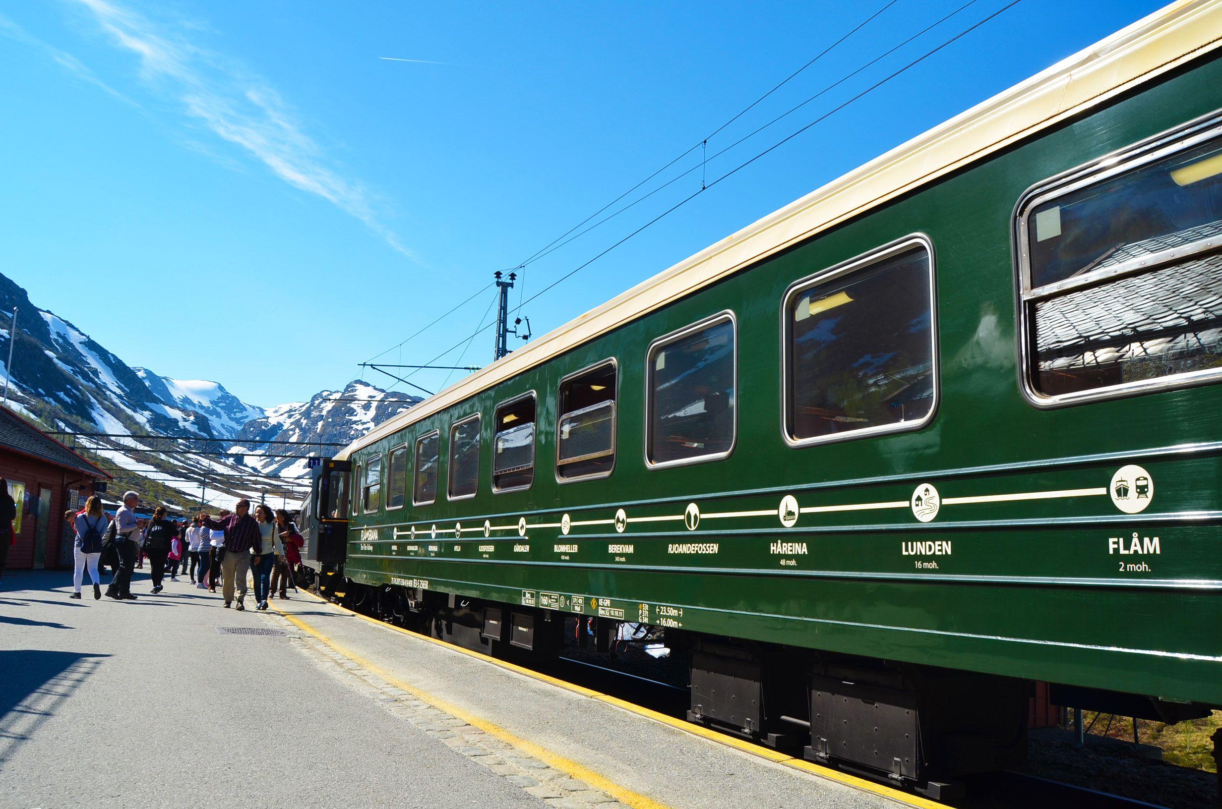 Presupuesto viaje a Noruega, Tren de Flam