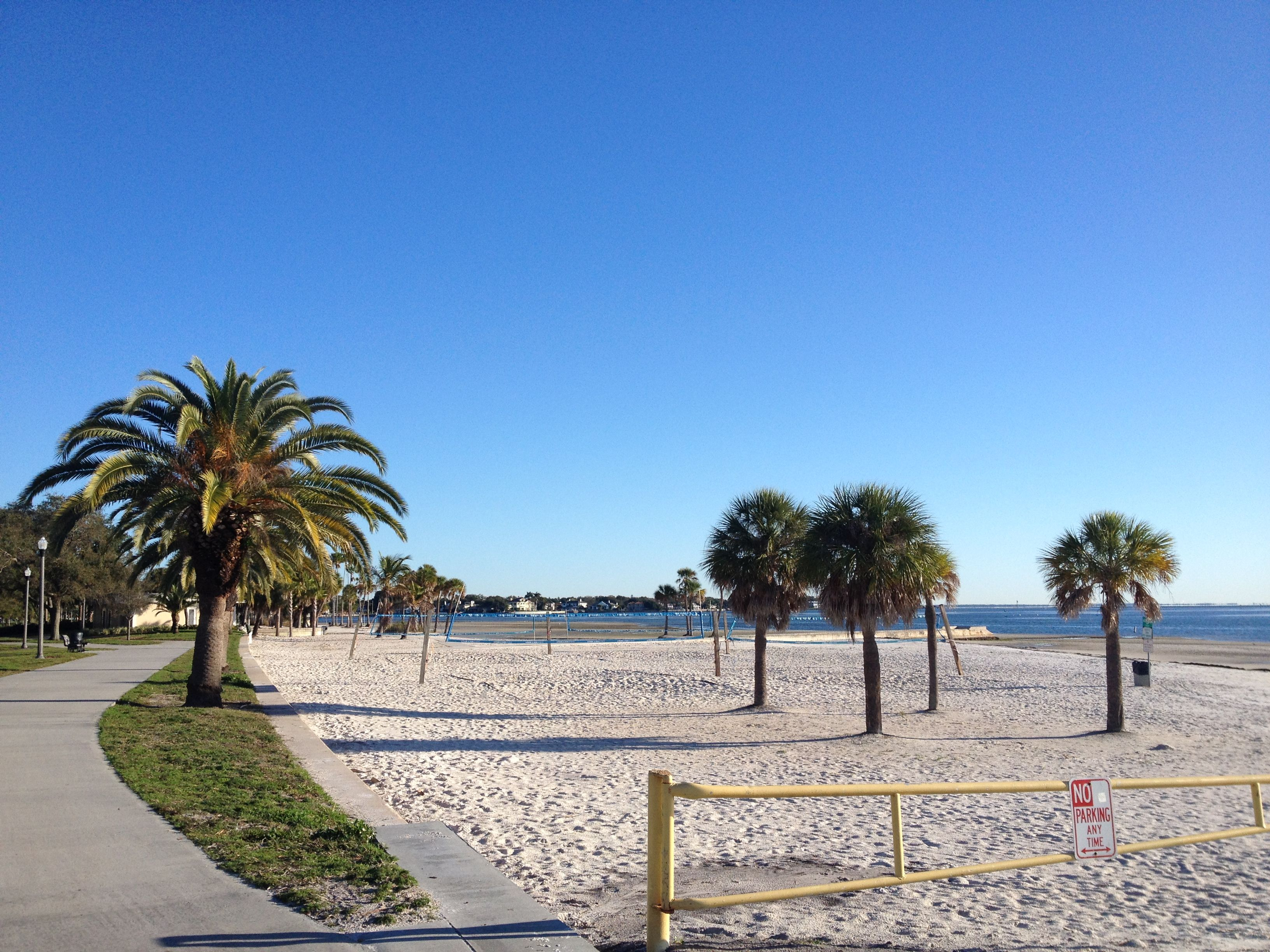 Play Some Volleyball At North Shore Park Stpete Clearwater Florida Petersburg St Petersburg