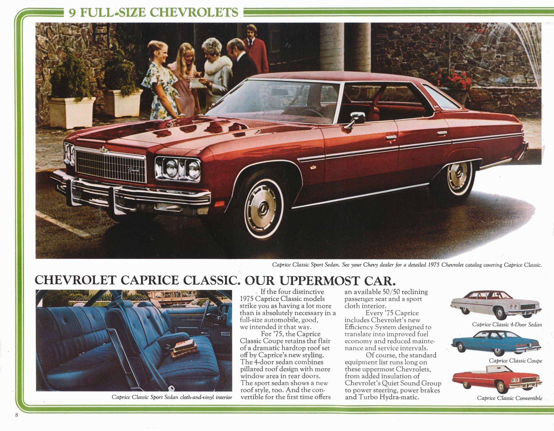 1975 Chevrolet Caprice Chevrolet Caprice Chevrolet Automobile