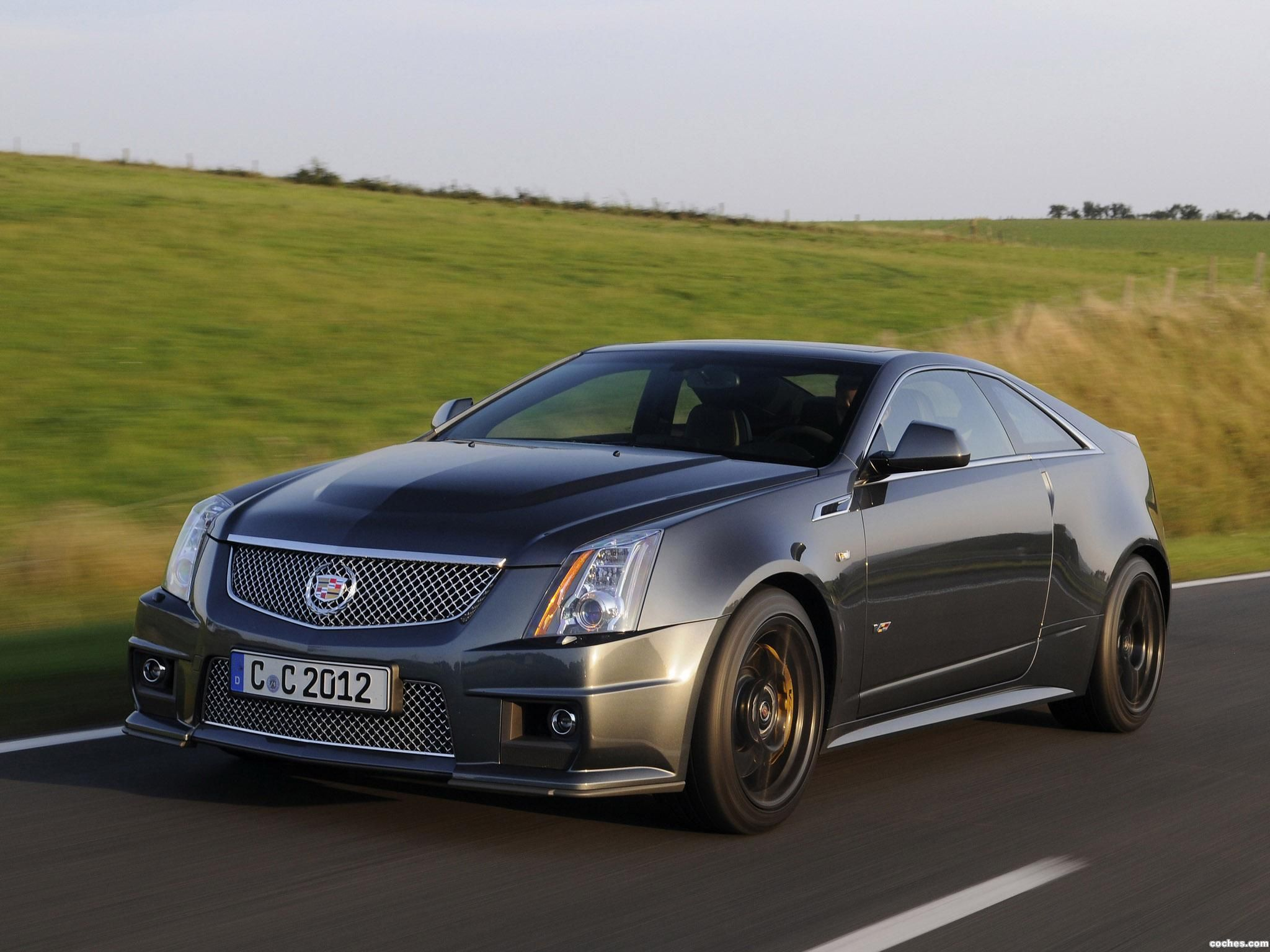 Cadillac cts v coupe black diamond 2011