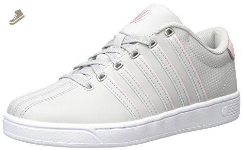 Court Pro Vulc, Sneakers Basses Mixte Adulte, Noir (Black/White 002), 41 EUK-Swiss