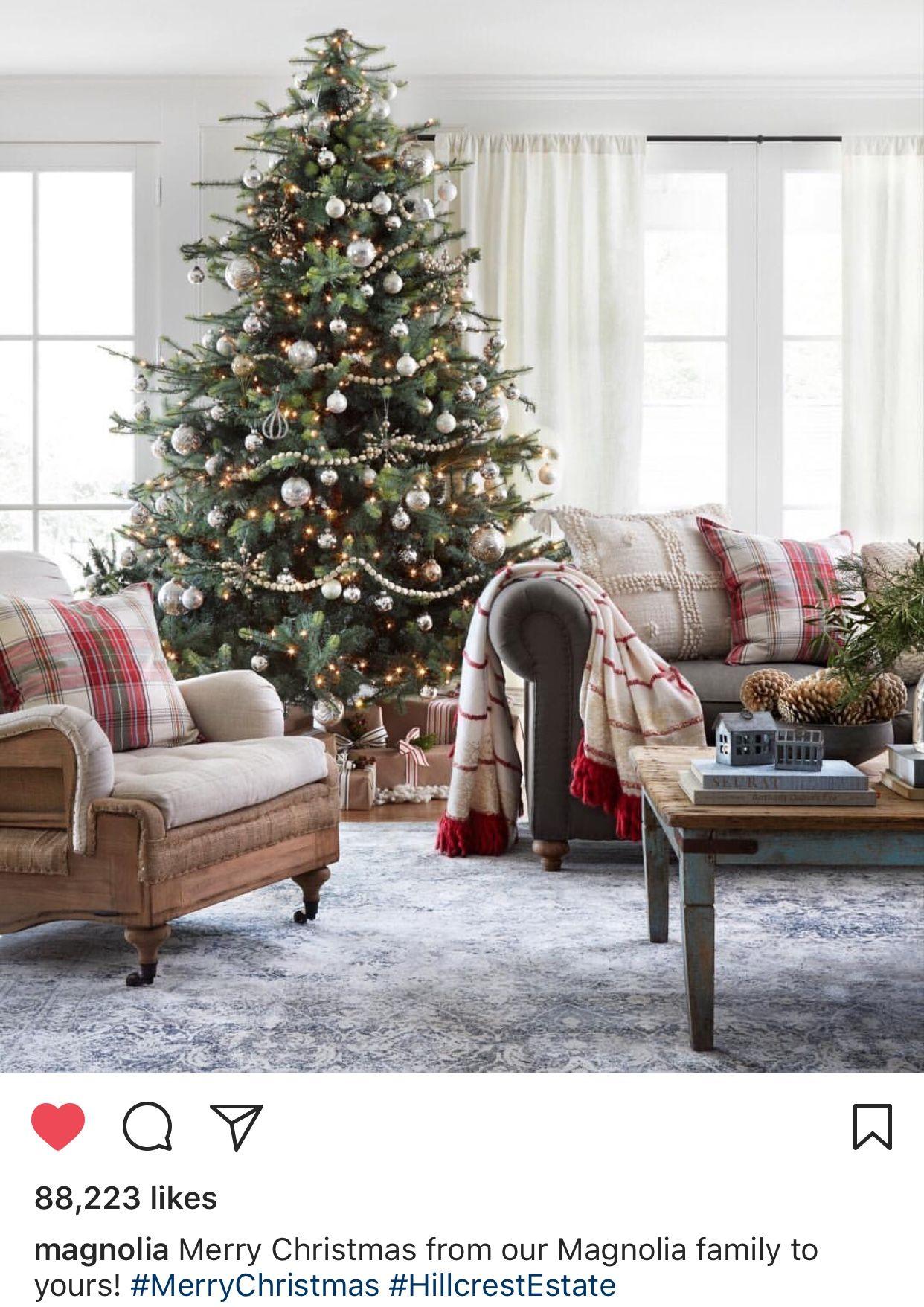 Magnolias Hillcrest Estates Magnolia Christmas Decor Christmas Home Target Christmas Decor