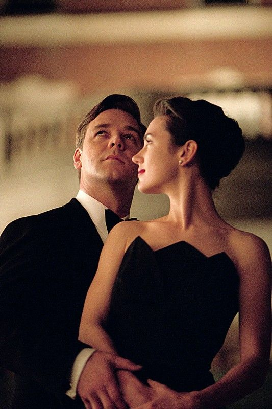 "Russell Crowe and Jennifer Connelly in ""A Beautiful Mind ..."