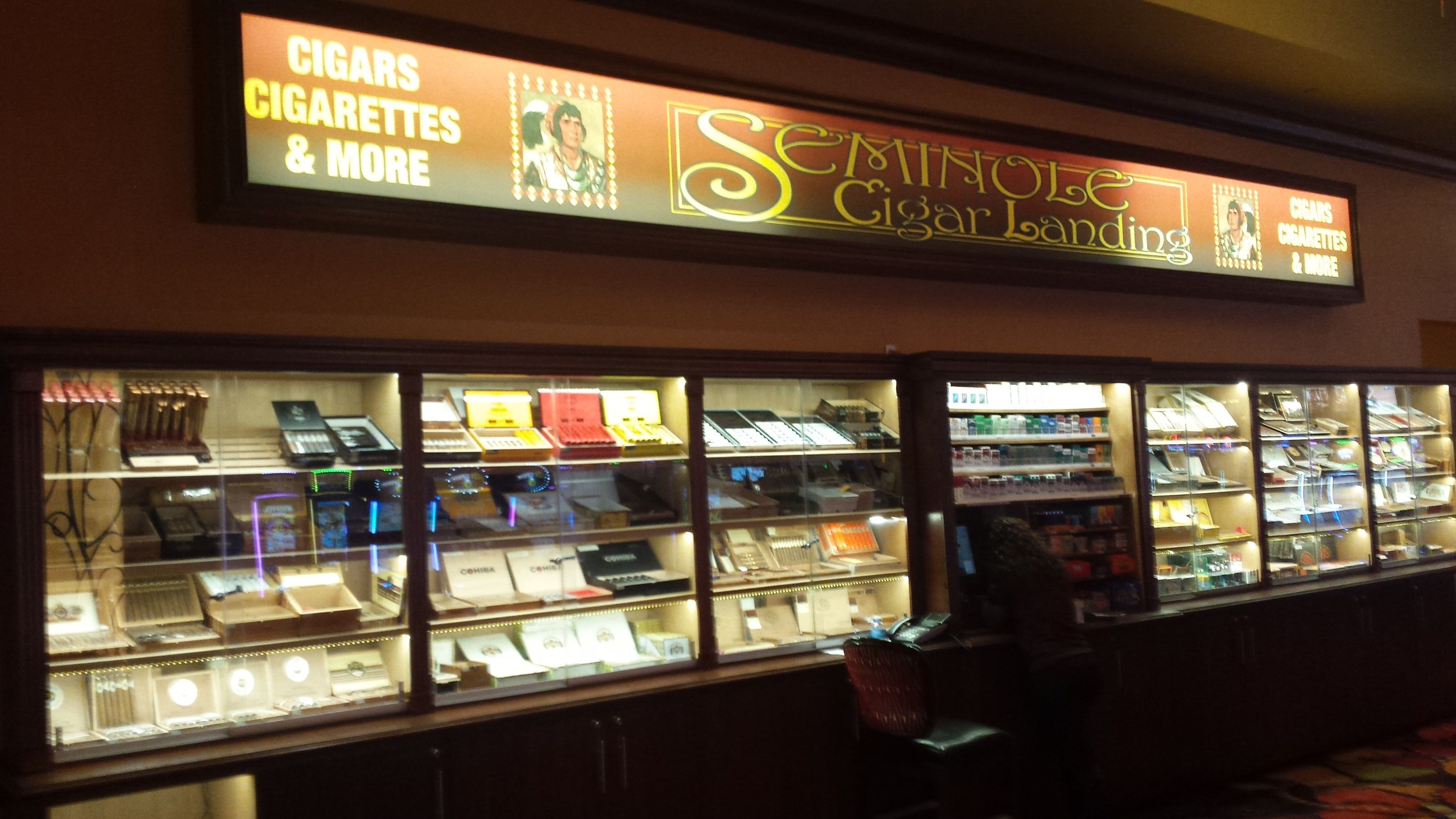 Cigar Store in Casino