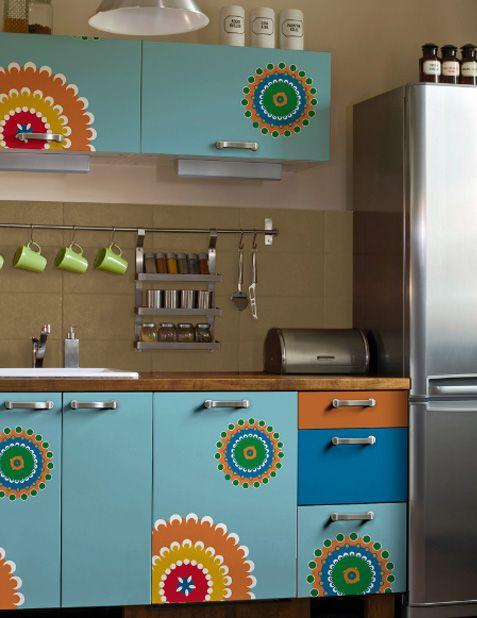 Küchenkunst \/ Kitchen art Küchenkunst Pinterest Küchenkunst - klebefolien f r k chenschr nke