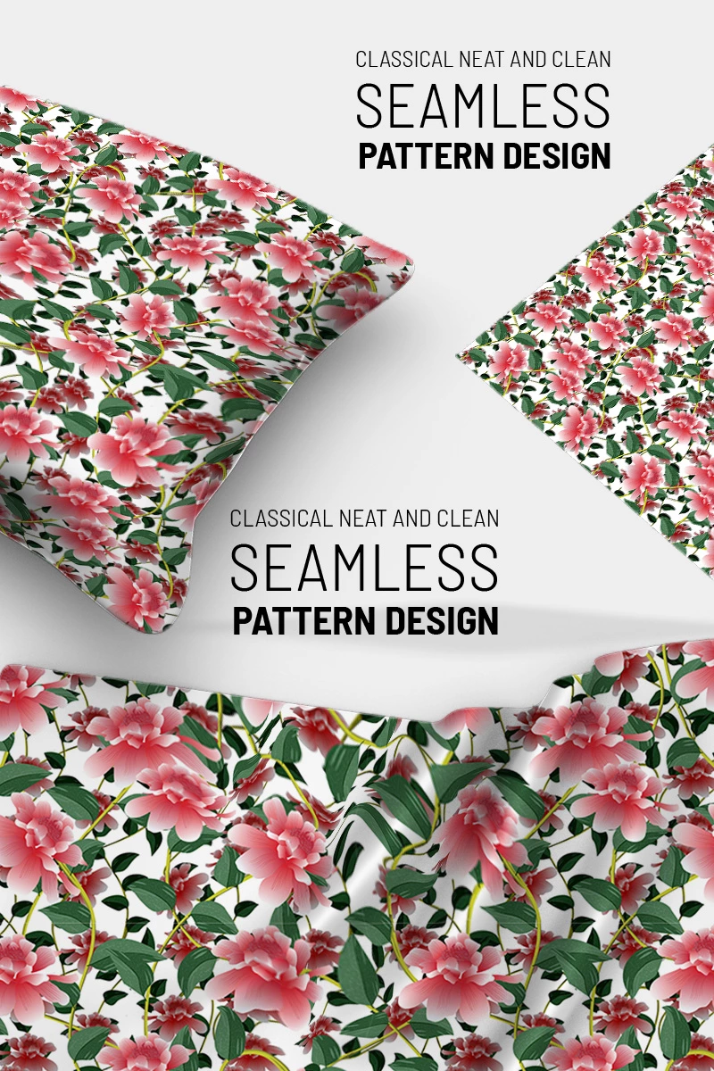 Elegantly designed floral repeat design Pattern #90764 #patterndesign #patterndesigner #patterndesigners #textiledesign #textiledesigner #textiledesigners #surfacedesign #surfacepattern #surfacepatterndesign #repeatpattern #illustrator #fashionillustration #illustrationfriday #fashion #design #graphic #patterndesign #repeatpattern #mockup #fabricmockup