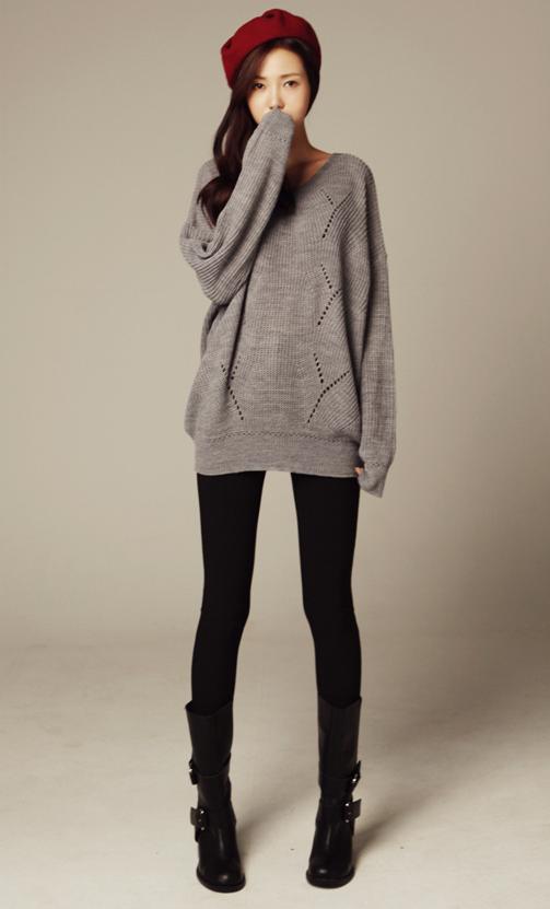 fancy cute winter outfits korean 13