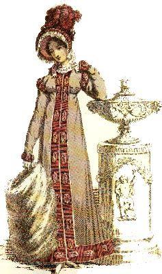 Jane Austen Regency Walking Dress (Promenade Dress)