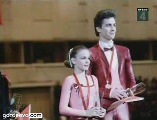 Ekaterina Gordeeva e Sergei Grinkov