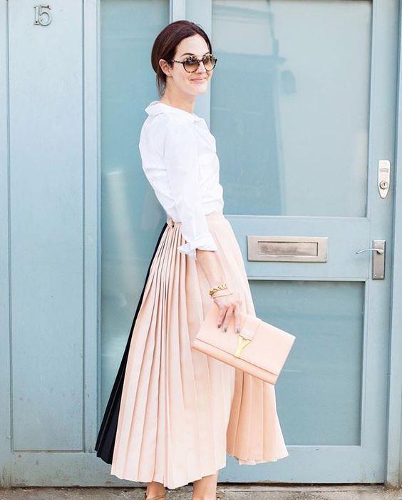 Moda - looks rosa + rosa 2