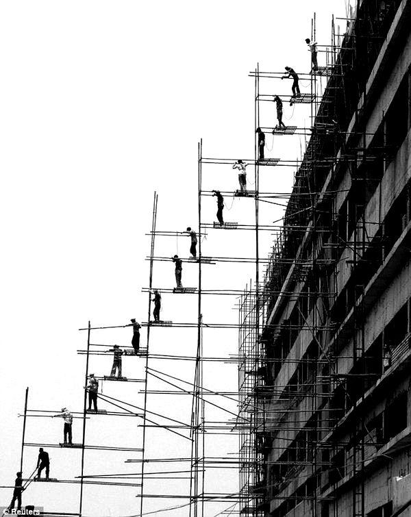 Stunning Scaffolding Photography