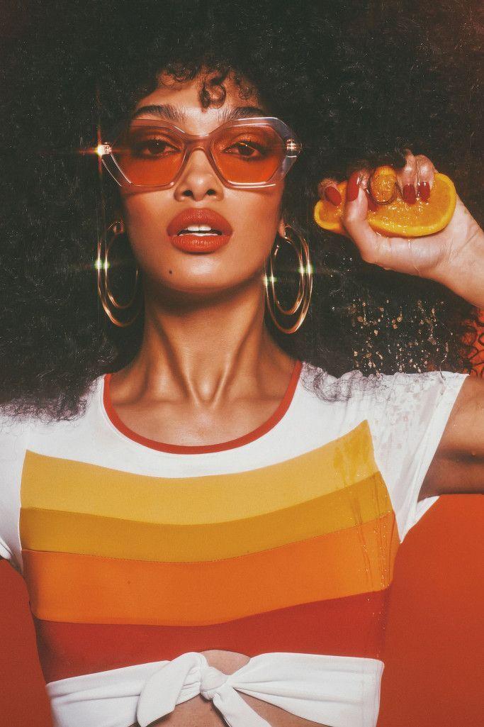 Spring 2019 Eyewear Trend: Hot Stuff