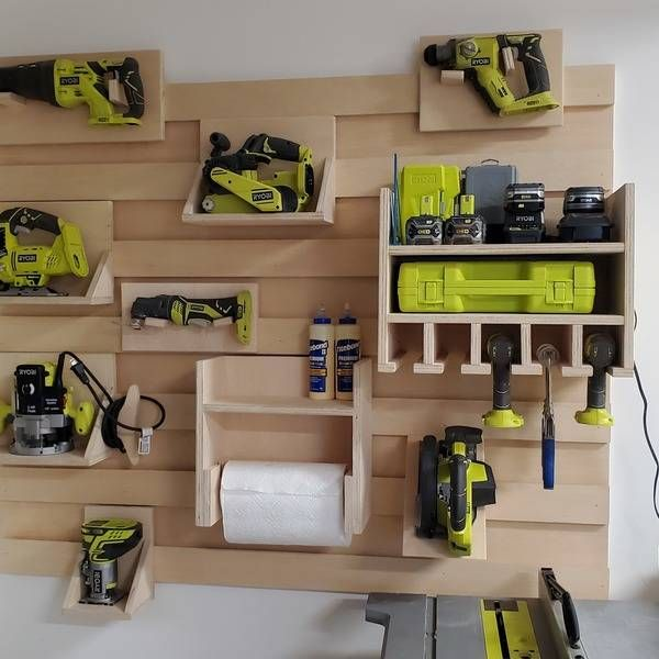 RYOBI NATION – French Cleat Wall System