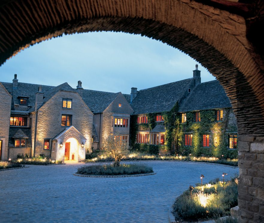 Whatley Manor Courtyard. Absolutely The Most Stunning
