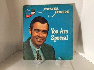 Mister Rogers Neighborhood You Are Special 45 Rpm Record Single 1977 Mister Rogers Neighborhood Mr Rogers You Are Special