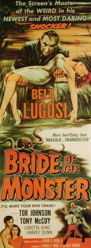 Bride Of The Monster - Bela #Lugosi. #horror