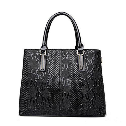Details About Women Snake Pattern High Quality Bag Bride Tote Wedding Large Designer Handbag