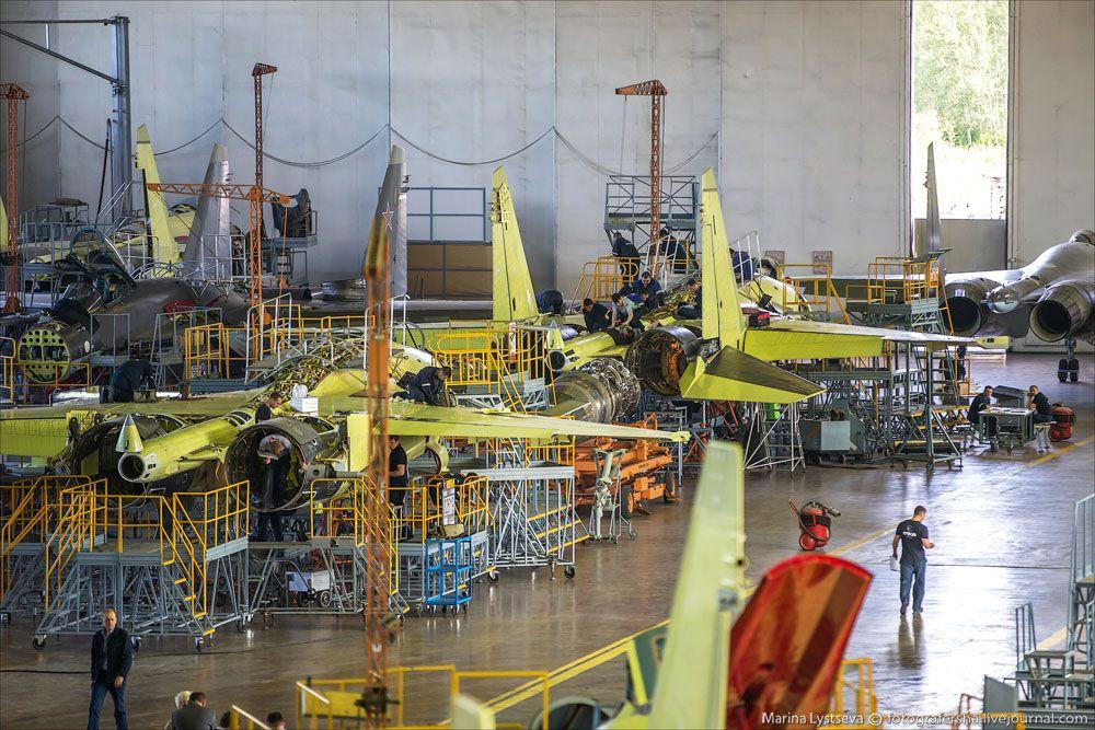СУ35 на КнААЗ United aircraft corporation, Aerospace