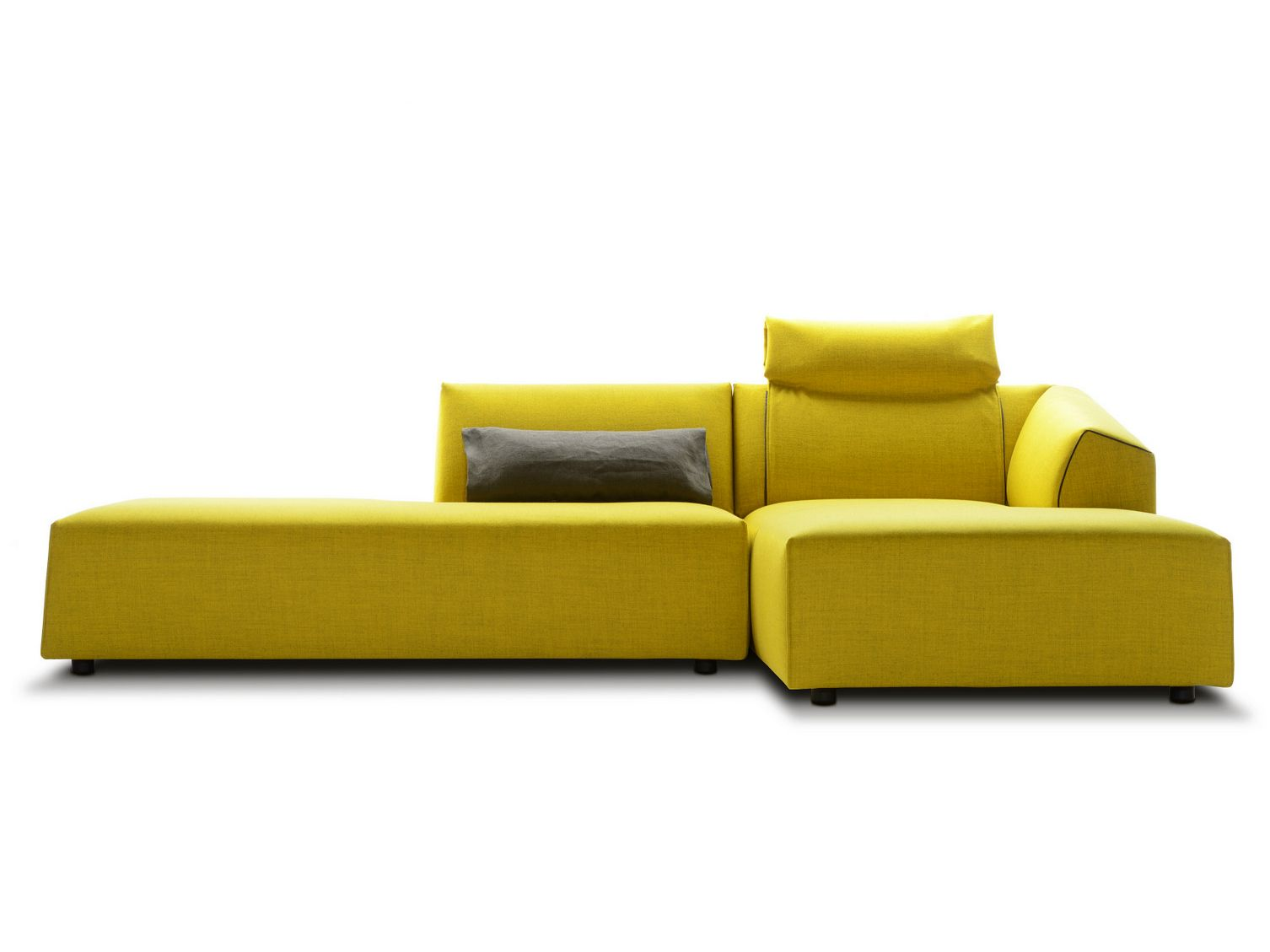 Ausgefallene Ecksofas Sectional Fabric Sofa Thea By Mdf Italia Design Lina