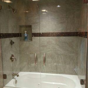 Glass shower doors over tub httpsanromandeescalante glass shower doors over tub planetlyrics Choice Image
