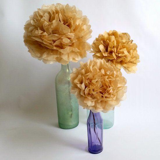 Tutorial semplice e veloce per una creazione floreale Shabby