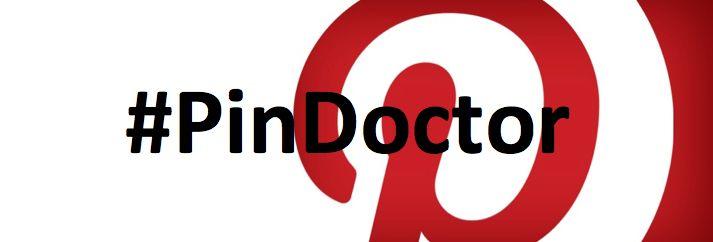 Elke donderdag van 20u-21u houdt de #PinDoctor Twitterspreekuur. Stel gerust al je #Pinterest vragen :)