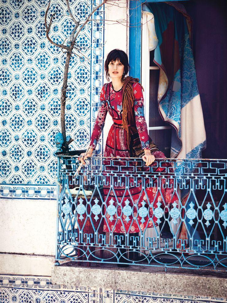 Sabrina Ioffreda by Will Davidson for Vogue Australia November 2015 2