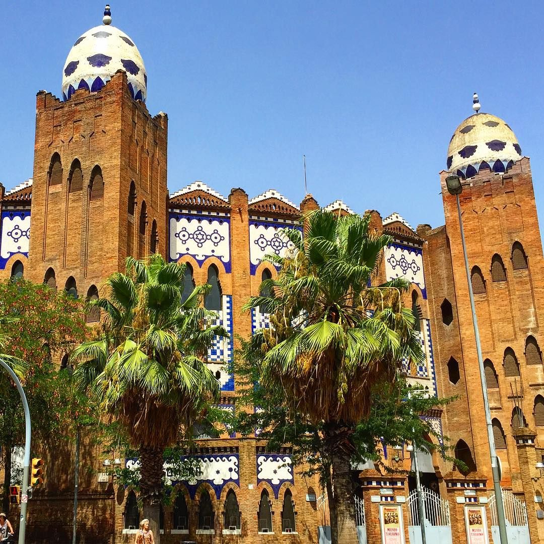 Plaza de toros La Monumental - Barcelona, Spain