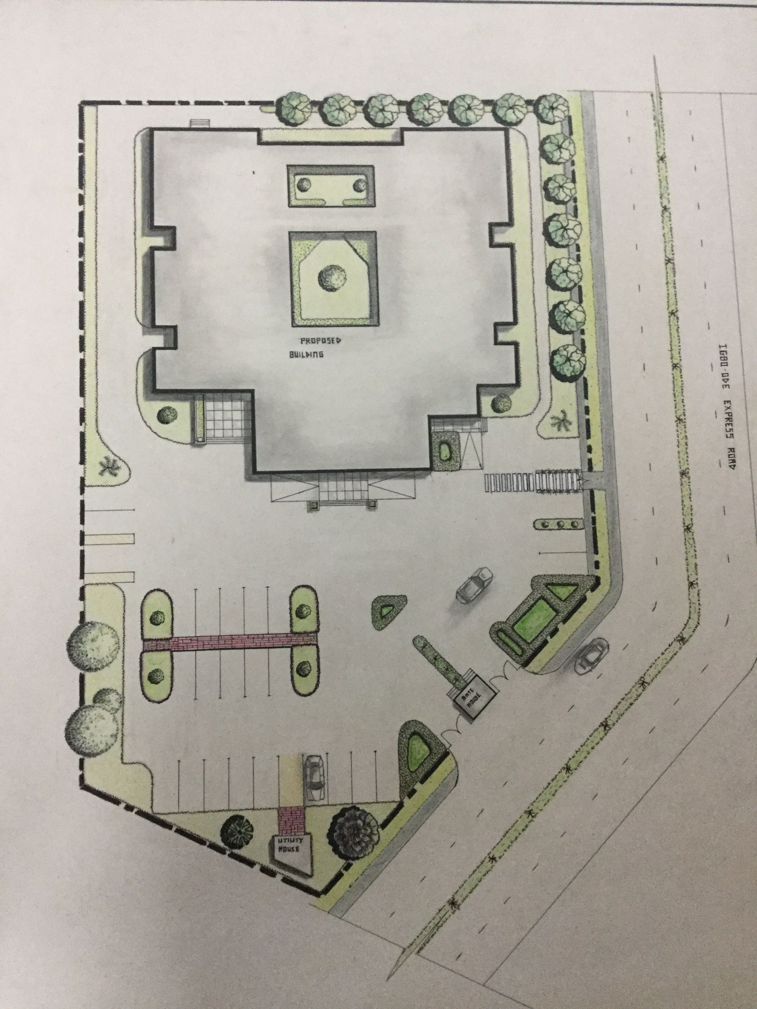 Site Plan Design 2018 Ogunsola Seye Isaac Covenant University