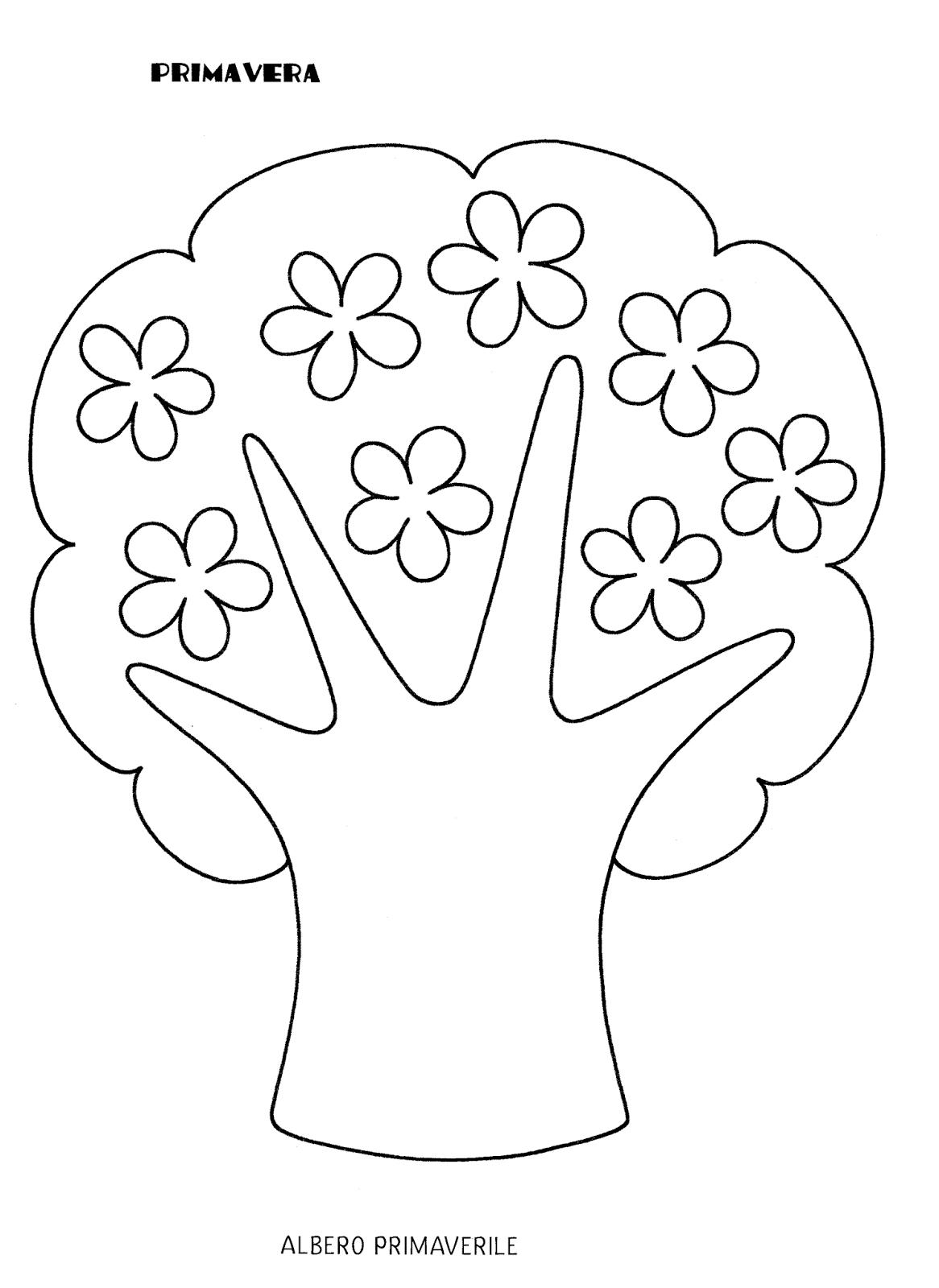 Blog scuola schede didattiche scuola dell 39 infanzia la - Pagine da colorare di scena di primavera ...