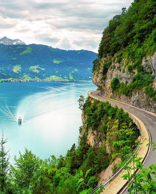Amazing Places To Stay Switzerland: Lake Thun - Switzerland