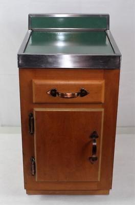 Best Vintage Salesman Sample 1950S Kitchen Cabinet Laminate 400 x 300