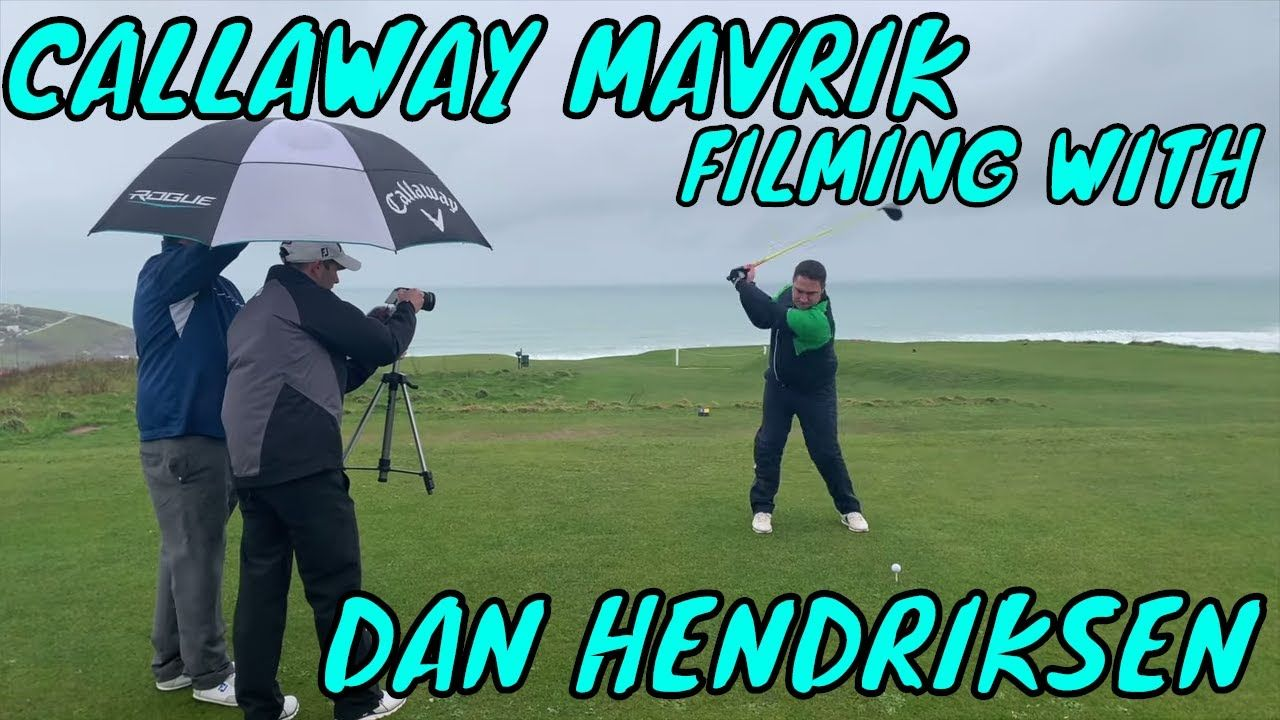 Getting fitted for callaway mavrik on dan hendriksen golf
