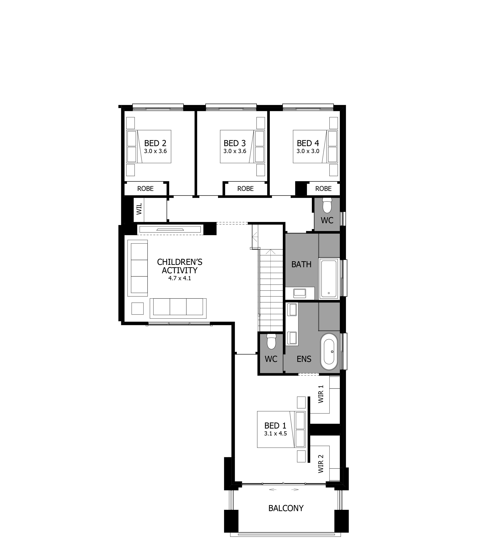 Enigma 32 Warnervale Leppington Floorplan With Images