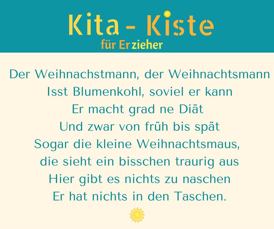 Weihnachtsmann Spruch   Erfindet Neue Strophen   (Sauerkraut, Trinkt Wasser  Nur, Magerquark. WeihnachtsliederEinladung ...