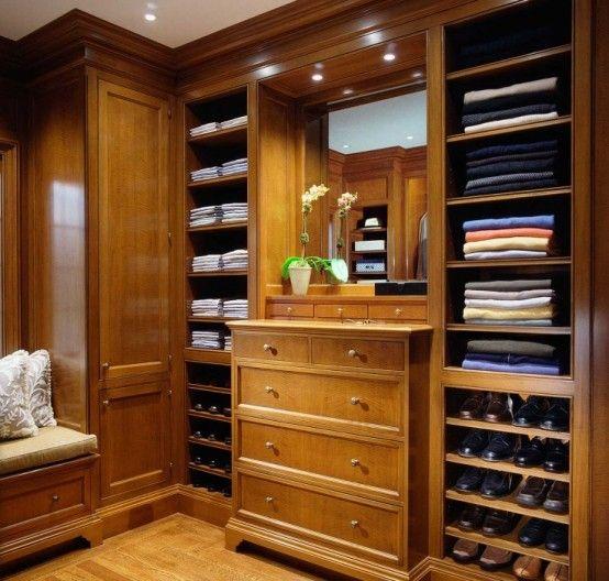 Superieur 43 Stylish Masculine Closet Designs | DigsDigs