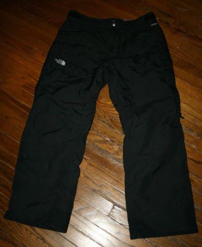 f6d93cbd0 Men's The North Face Hyvent black ski snowboard winter Snow Pants-XL ...